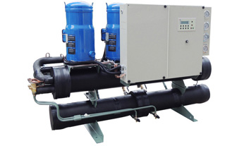 喷淋式螺杆水冷冷水机